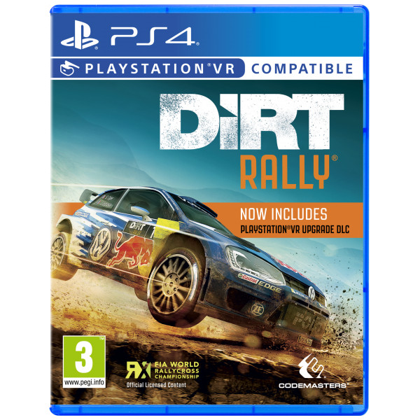 Codemasters Tv-Spel Dirt Rally Vr från Codemasters