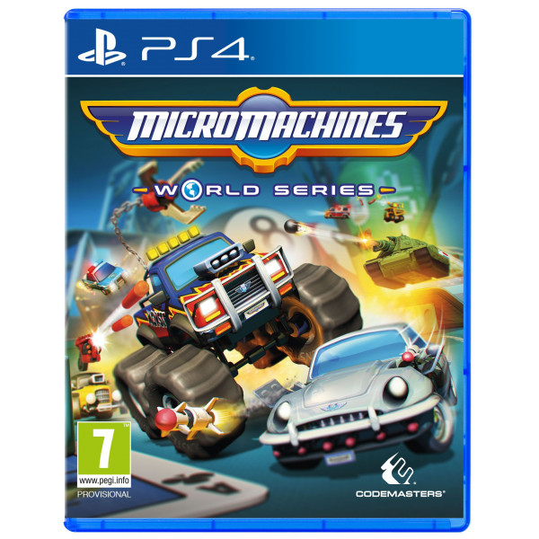 Codemasters Tv-Spel Micro Machines World Series från Codemasters