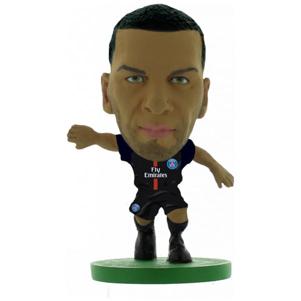 Creative Toys Miniatyrfigur Soccerstarz - Paris St Germain Dani Alves - Home Kit 2018 Version från Creative toys