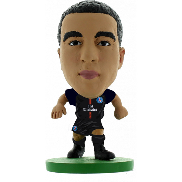 Creative Toys Miniatyrfigur Soccerstarz - Paris St Germain Lucas Moura - Home Kit 2018 Version från Creative toys