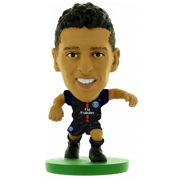 Creative Toys Miniatyrfigur Soccerstarz - Paris St Germain Marquinhos - Home Kit 2018 Version från Creative toys