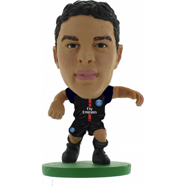 Creative Toys Miniatyrfigur Soccerstarz - Paris St Germain Thiago Silva - Home Kit 2018 Version från Creative toys
