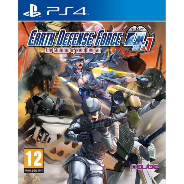 D3 Publishing Tv-Spel Earth Defense Force 41 The Shadow Of New Despair från D3 publishing