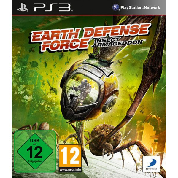 D3 Publishing Tv-Spel Earth Defense Force Insect Armageddon från D3 publishing