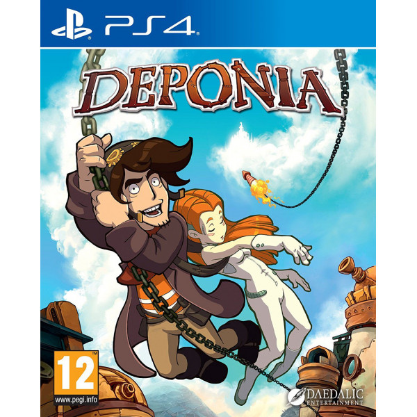 Daedalic Entertainment Tv-Spel Deponia från Daedalic entertainment