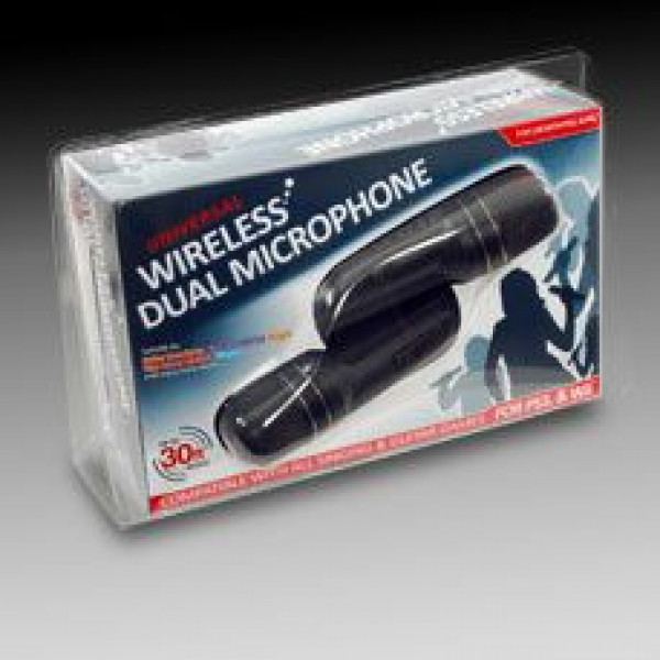 Datel Tv-Spel Universal Wireless Dual Microphone For Ps3 & Wii från Datel