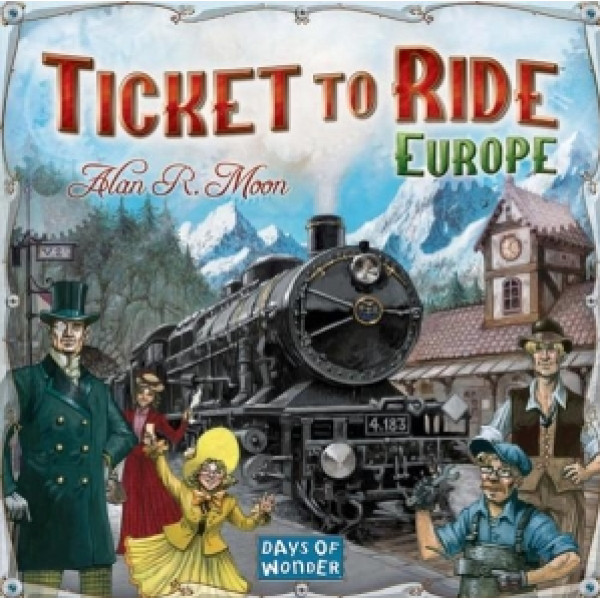 Days Of Wonder Sällskapsspel Ticket To Ride Europe från Days of wonder