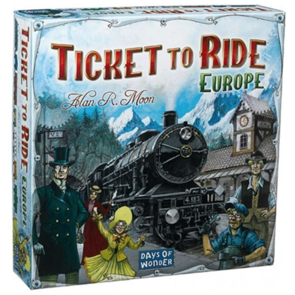 Days Of Wonder Sällskapsspel Ticket To Ride - Europe från Days of wonder