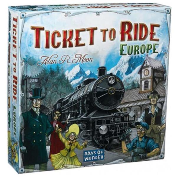 Days Of Wonder Sällskapsspel Ticket To Ride - Europe från Days of wonder