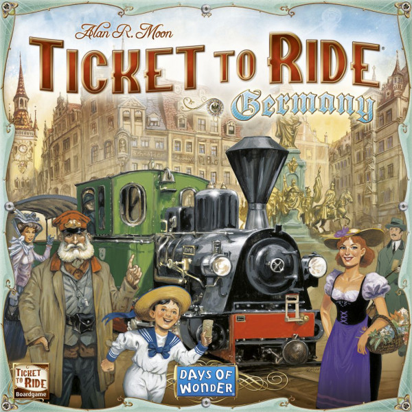 Days Of Wonder Sällskapsspel Ticket To Ride - Germany från Days of wonder