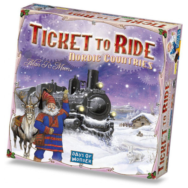 Days Of Wonder Sällskapsspel Ticket To Ride - Nordic Countries från Days of wonder