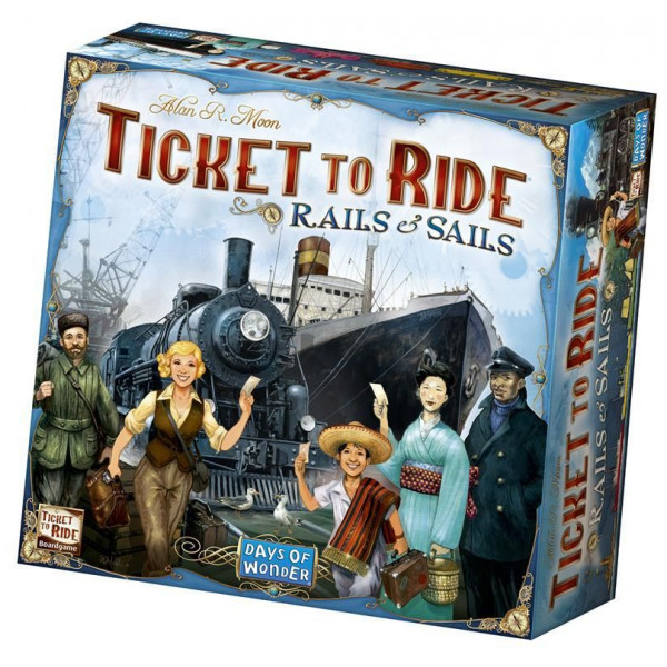 Days Of Wonder Sällskapsspel Ticket To Ride - Sails And Rails från Days of wonder