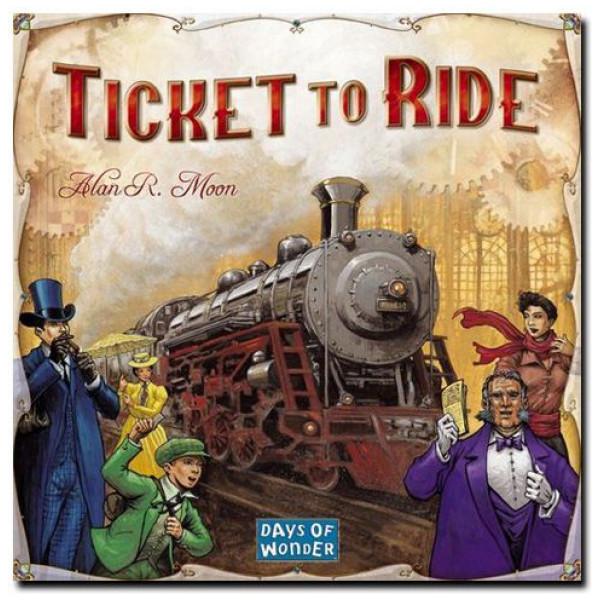 Days Of Wonder Sällskapsspel Ticket To Ride - Usa från Days of wonder
