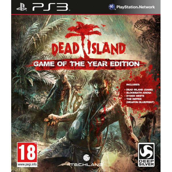 Deep Silver Tv-Spel Dead Island Game Of The Year från Deep silver