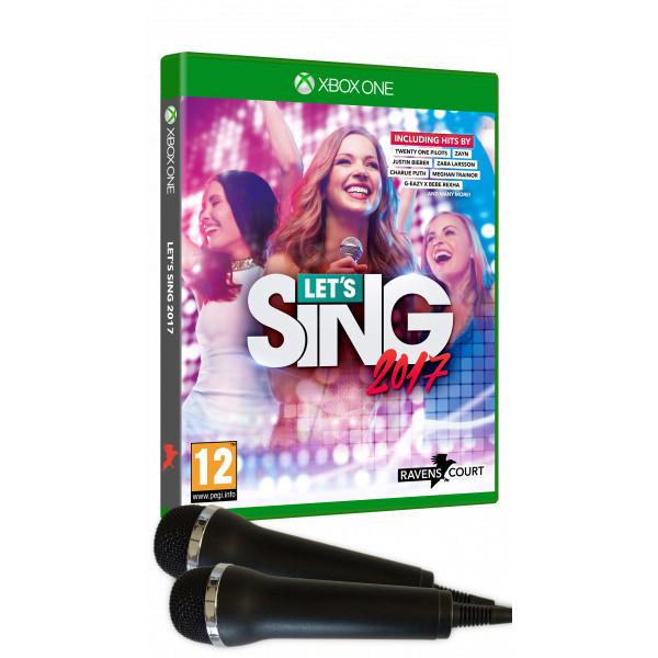 Deep Silver Tv-Spel Let's Sing 2017 + 2 Mic Pack från Deep silver