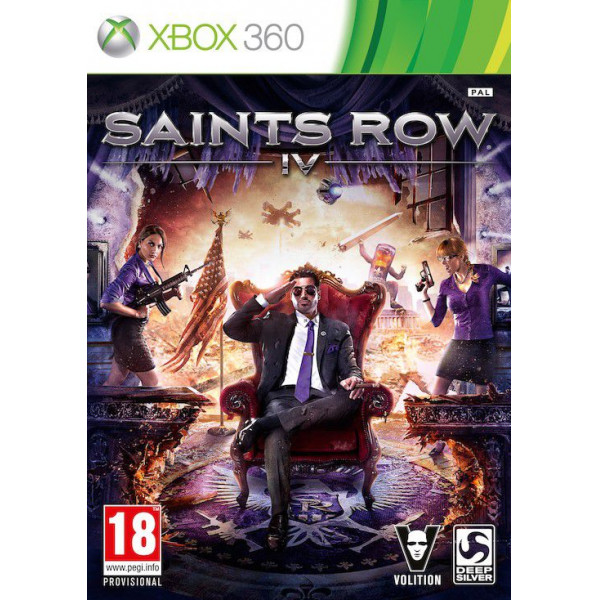 Deep Silver Tv-Spel Saints Row Iv 4 Commander In Chief från Deep silver