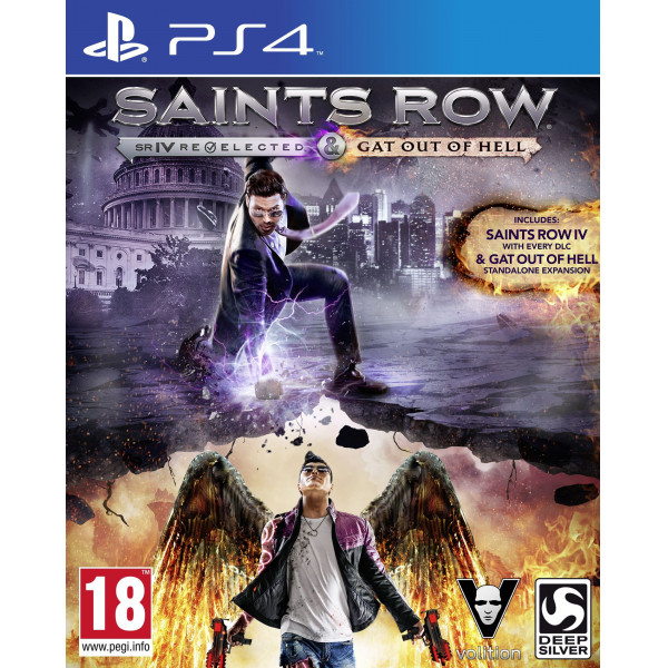 Deep Silver Tv-Spel Saints Row Iv Re-Elected Gat Out Of Hell från Deep silver