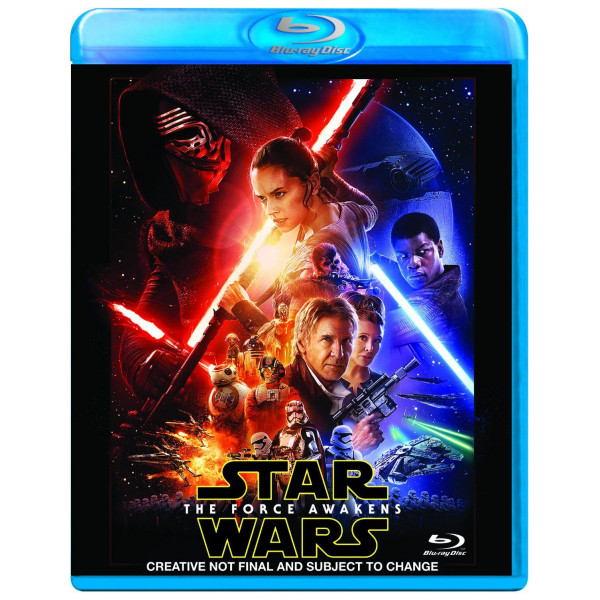Disney 0-Starwars Star Wars The Force Awakens Blu-Ray från Disney