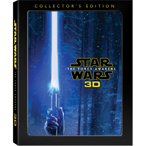 Disney 0-Starwars Star Wars The Force Awakens Collectors Edition 3D Blu-Ray från Disney