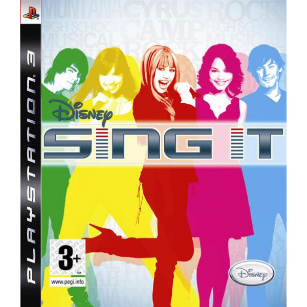 Disney Interactive Tv-Spel Disney Sing It With Microphones från Disney interactive