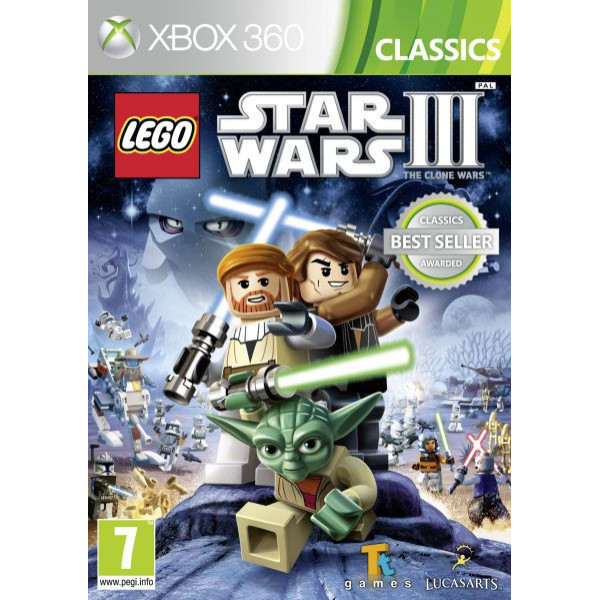 Disney Interactive Tv-Spel Lego Star Wars Iii Clone Wars Classics från Disney interactive