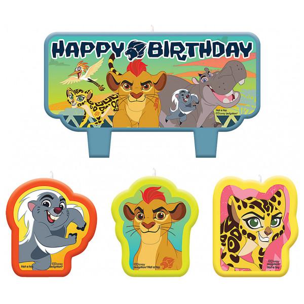 Disney Store 0-Lejonkung Lejonvakten Födelsedagsljus från Disney store
