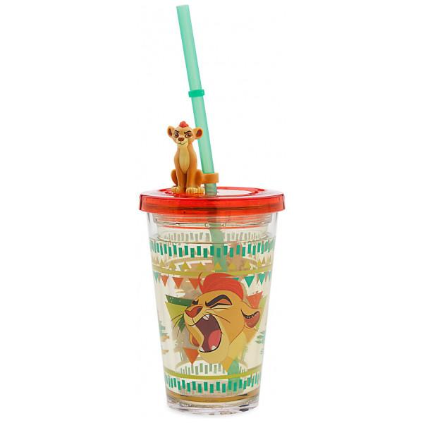 Disney Store 0-Lejonkung The Lion Guard Vattenfyllt Dricksglas Med Sugrör från Disney store