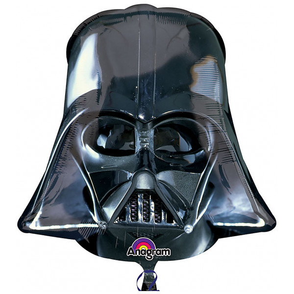 Disney Store 0-Starwars Darth Vader Supershape Ballong från Disney store