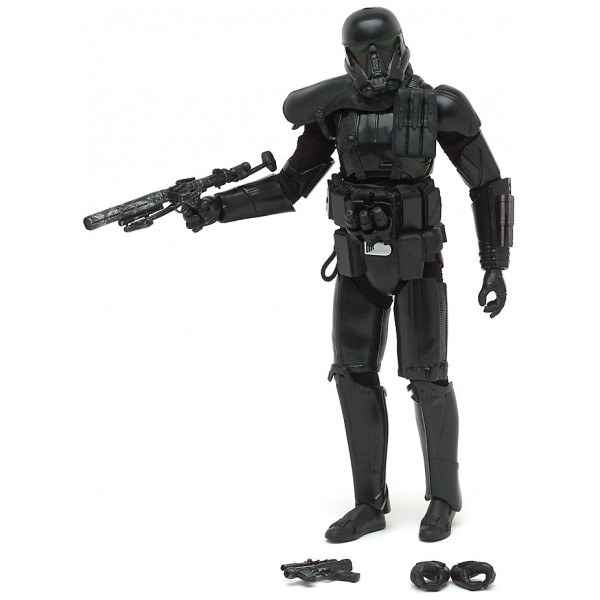 Disney Store 0-Starwars Exklusiv Imperial Death Trooper Elite Series-Actionfigur Rogue One A Star Wars Story från Disney store