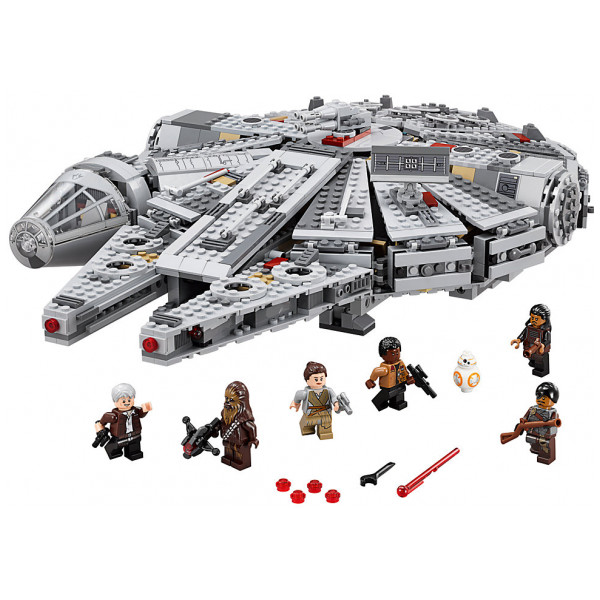 Disney Store 0-Starwars Lego Star Wars Millennium Falcon 75105 från Disney store