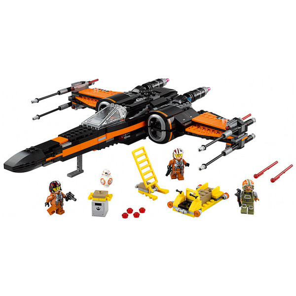 Disney Store 0-Starwars Lego Star Wars Poes X-Wing Fighter 75102 från Disney store
