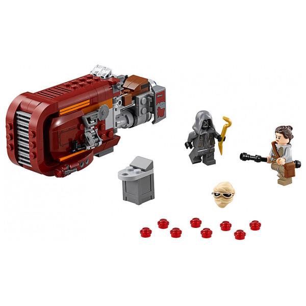 Disney Store 0-Starwars Lego Star Wars Reys Speeder 7509 från Disney store