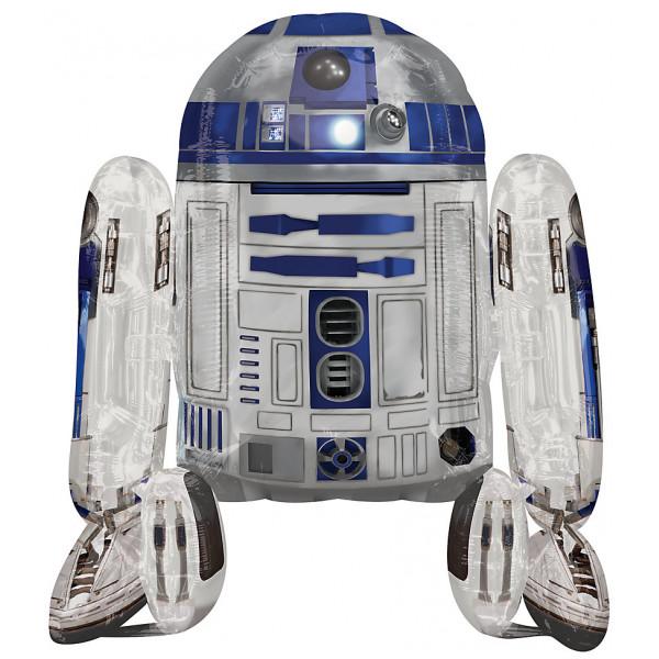 Disney Store 0-Starwars R2-D2 Vandrande Ballong från Disney store