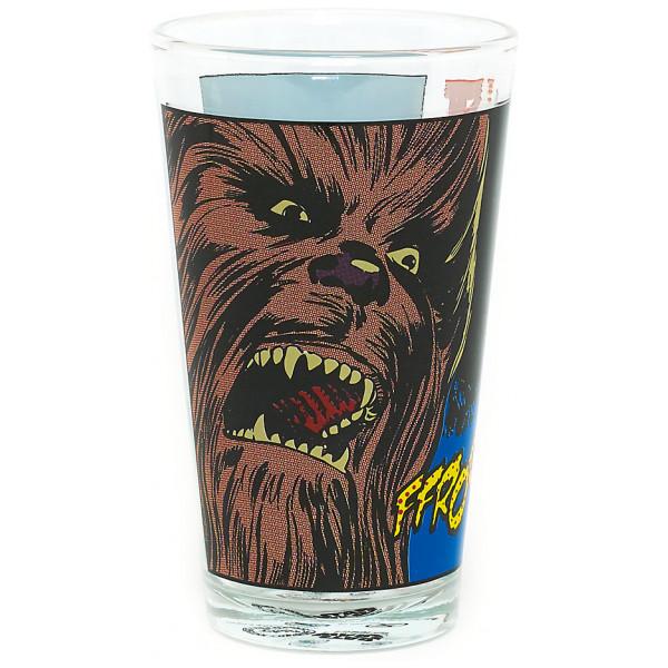 Disney Store 0-Starwars Star Wars Dricksglas Chewbacca från Disney store