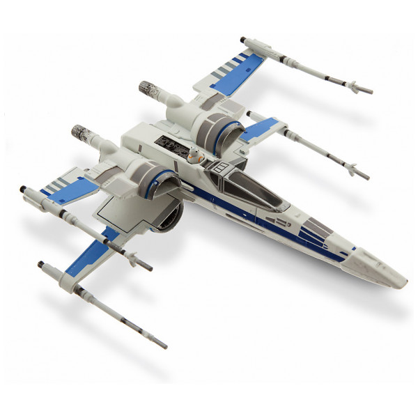 Disney Store 0-Starwars Star Wars Resistance X-Wing-Fighter Diecast-Fordon från Disney store