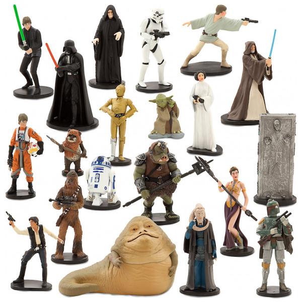 Disney Store 0-Starwars Star Wars Stort Lekset Med Figurer från Disney store