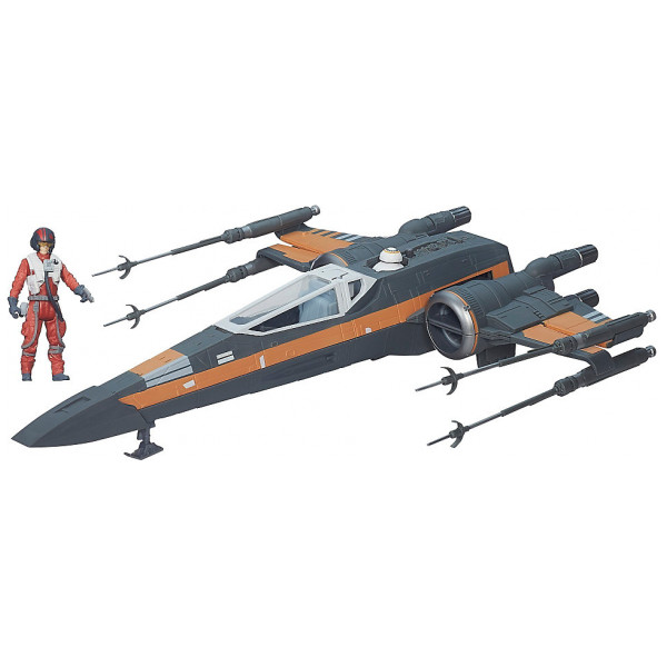 Disney Store 0-Starwars Star Wars The Force Awakens-Fordon 10 Cm Poe Damerons X-Wing från Disney store