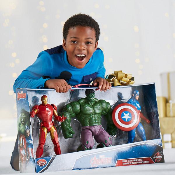Disney Store Actionfigur Avengers Lyxigt Presentset Med Actionfigurer från Disney store