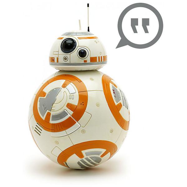 Disney Store Actionfigur Bb-8 Interaktiv Talande Star Wars-Figur från Disney store