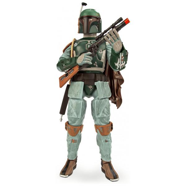 Disney Store Actionfigur Boba Fett Talande Star Wars-Figur från Disney store