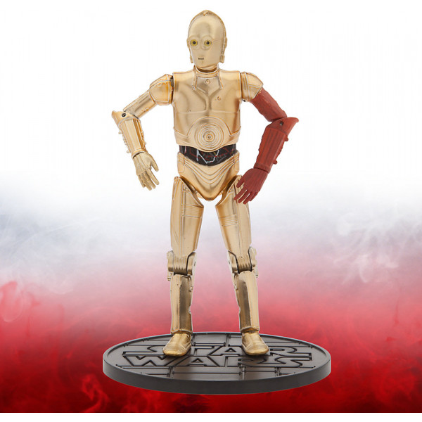 Disney Store Actionfigur C-3Po 15 Cm Diecast-Figur I Elite-Serien Star Wars The Force Awakens från Disney store