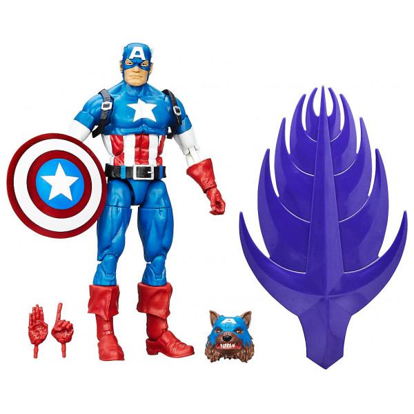 Disney Store Actionfigur Captain America Legends 15 Cm Figur Captain America Civil War från Disney store