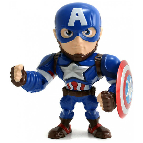 Disney Store Actionfigur Captain America Metals 10 Cm Diecast-Figur Captain America Civil War från Disney store