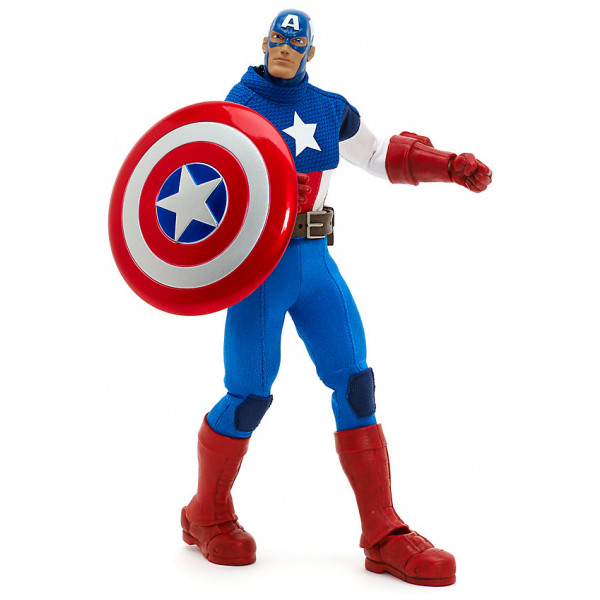Disney Store Actionfigur Captain America Premium- Marvel Ultimate-Serien från Disney store