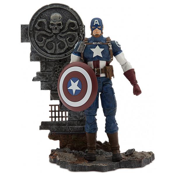 Disney Store Actionfigur Captain America Samlarutgåva från Disney store