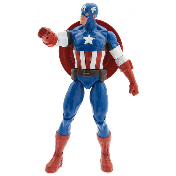 Disney Store Actionfigur Captain America Talande från Disney store