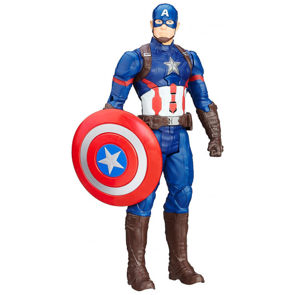 Disney Store Actionfigur Captain America Titan Hero 30 Cm Captain America Civil War från Disney store