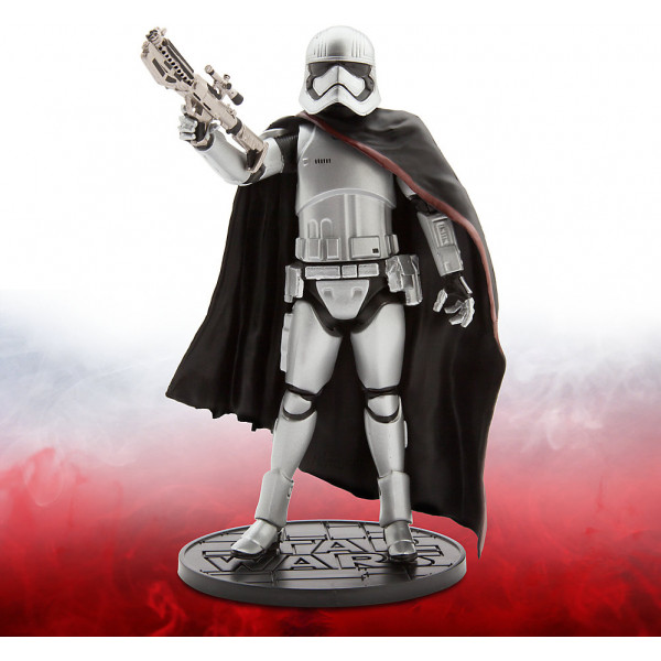 Disney Store Actionfigur Captain Phasma Star Wars Elite Series Diecast-Figur 18 Cm från Disney store