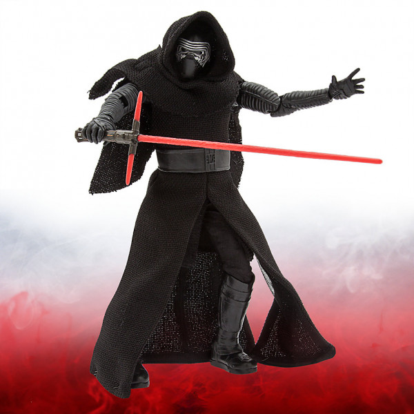 Disney Store Actionfigur Exklusiv Kylo Ren- Star Wars The Force Awakens från Disney store