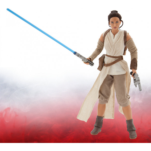 Disney Store Actionfigur Exklusiv Rey- Star Wars The Force Awakens från Disney store